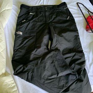Men's North Face hyvent black snow pants Large